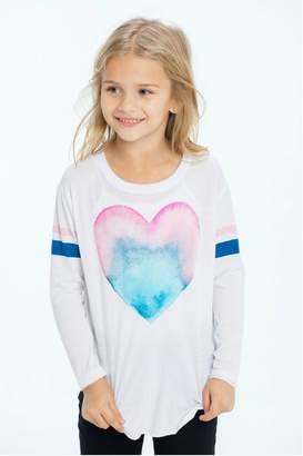 Chaser Painted Heart Top