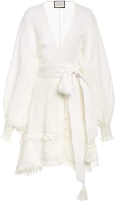 Alexis Mirza Linen Mini Dress