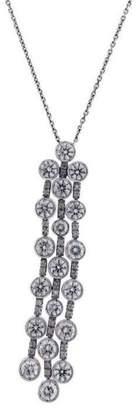 Chimento 18K White Gold Maria 2.91ct Diamond Dangle Necklace