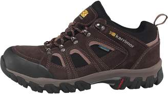 Karrimor Mens Bodmin Low IV Weathertite Hiking Shoes Dark Brown