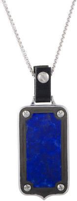 Stephen Webster Silver & Rhodium 3.40 Ct. Tw. Lapis Lazuli Necklace