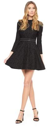 Juicy Couture Knit Lace Studded Dress