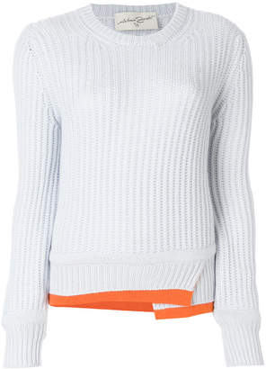 Antonia Zander ribbed knit jumper