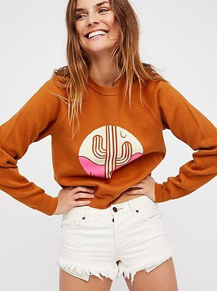 Cactus Sweater by Free People $148 thestylecure.com