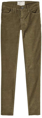 Current/Elliott The Stiletto Jean Corduroy Pants