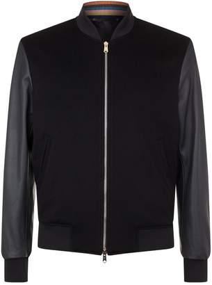 Paul Smith Cashmere Bomber Jacket