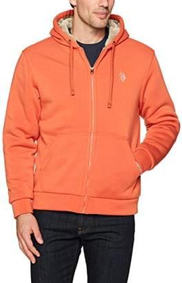 U.S. Polo Assn. Men's Standard Sherpa Lined Fleece Hoodie