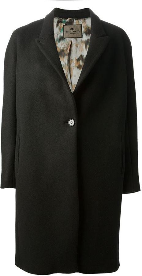 Etro button coat