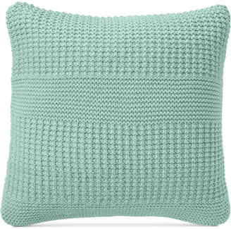 """Charter Club Multi-Knit 20"""" Square Decorative Pillow, Created for Macy's"""