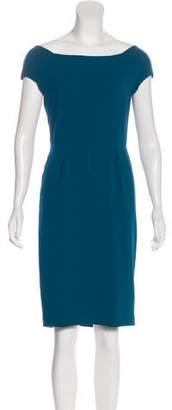 Acne Studios Short Sleeve Knee-Length Dress