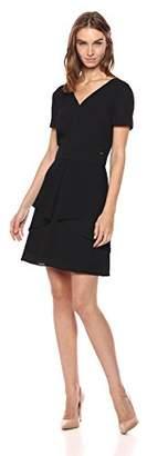 Armani Exchange A|X Women's V Neck Work Dress