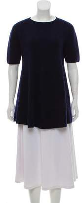 The Row Fluted Mélange Sweater