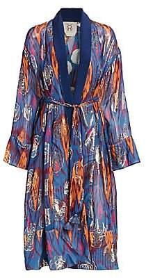 Figue Women's Kali Ikat Print Kimono