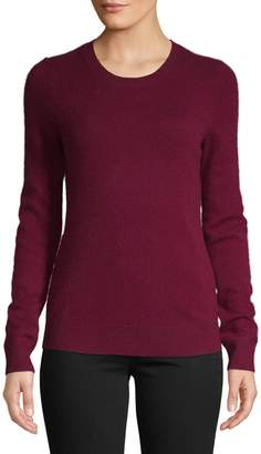 Lord & Taylor Long-Sleeve Crewneck Cashmere Sweater