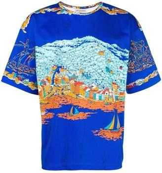 Emilio Pucci Portofino print T-shirt