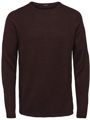 Selected Bakes Crewneck Cotton Pullover