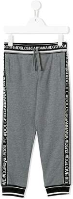Dolce & Gabbana drawstring track trousers