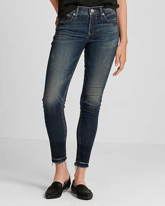 Express Eco-Friendly Mid Rise Stretch Jean Ankle Leggings