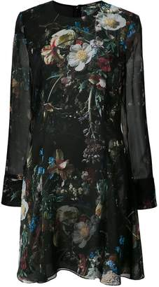 ADAM by Adam Lippes printed chiffon mini dress