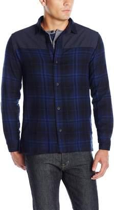 UNIONBAY Men's Flannel Pattern Shirt Jacket