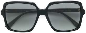 Gucci oversized shaped sunglasses