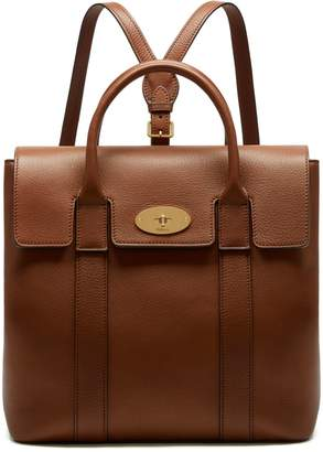 4cb92e4beda3 Mulberry Bayswater Backpack Oak Small Classic Grain