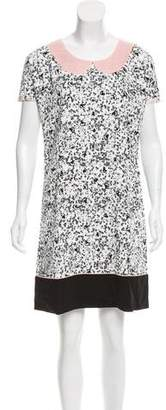 Giles Printed Mini Dress