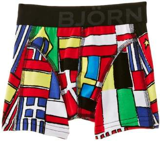 Bjorn Borg Flags without Fly Boy's Boxers