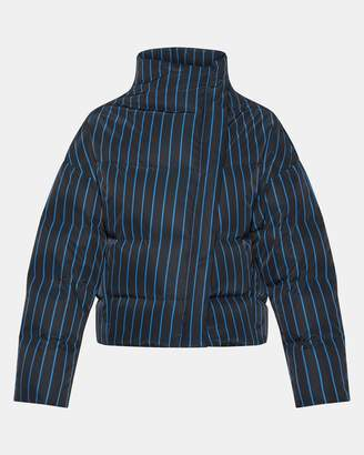 Theory Striped Off-Set Puffer