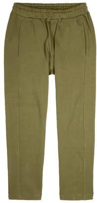 McQ Olive Cotton Jogging Trousers