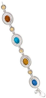 Tagliamonte Mother of Pearl & Venetian Intaglio Bracelet
