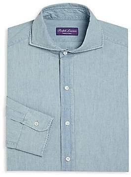 Ralph Lauren Purple Label Men's Keaton Regular-Fit Dress Shirt
