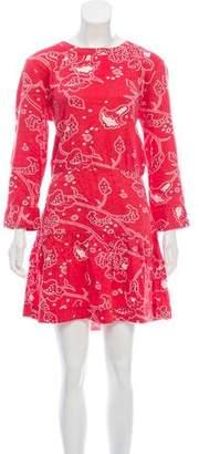 Current/Elliott Printed Mini Dress