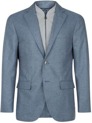 Corneliani Silk-Cotton Twill Jacket