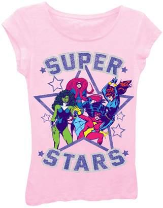 Freeze Super Stars Tee (Little Girls)