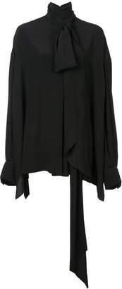 Vera Wang oversized tailored shirt