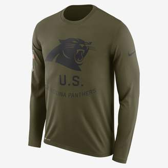 Nike Legend Salute to Service (NFL Panthers) Men's Long-Sleeve T-Shirt
