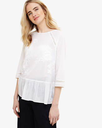 Phase Eight Catalina Embroidered Blouse
