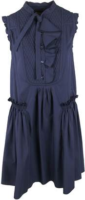 Moncler Ruffled Detail Dress