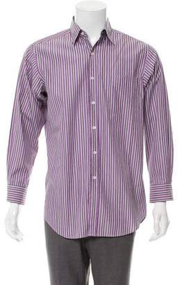 Ralph Lauren Purple Label Striped Dress Shirt