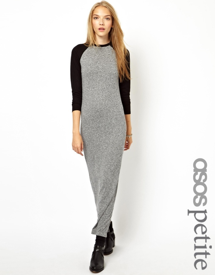Asos Exclusive Baseball Maxi Dress
