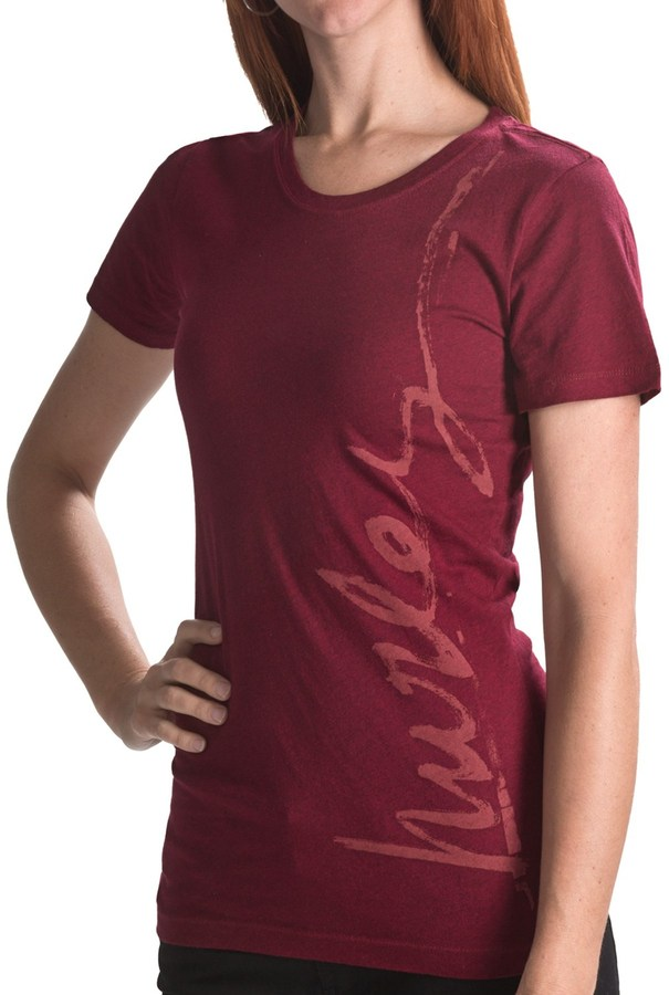 Hurley Downside T-Shirt - Short Sleeve (For Women)