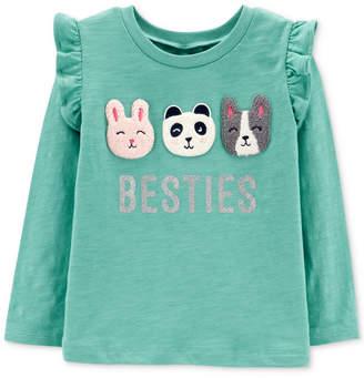 Carter's Toddler Girls Besties-Print Cotton T-Shirt