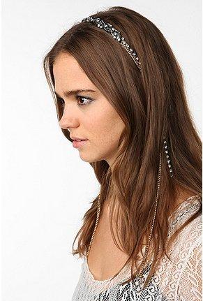 Rhinestone Chain Headband