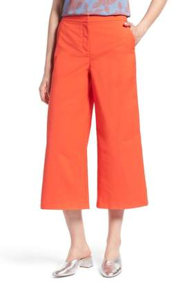 Halogen Wide Leg Crop Pants (Regular & Petite)