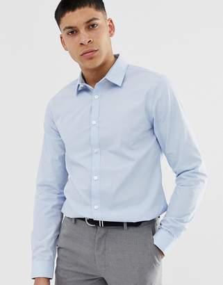 cc1a74f7 New Look poplin shirt in regular fit in light blue