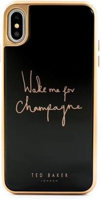 Ted Baker Champagne iPhone X/Xs/Xs Max & XR Case
