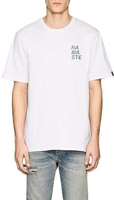 Rag & Bone MEN'S NAMASTE COTTON SHORT-SLEEVE T-SHIRT - WHITE SIZE XL