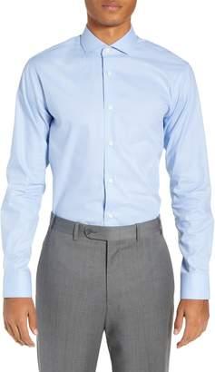 Tiger of Sweden Farrell Trim Fit Dot Dress Shirt