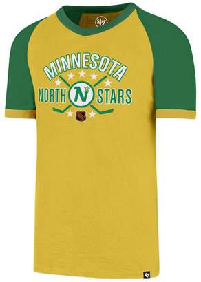 '47 Men's Minnesota North Stars Expansion Ship Raglan Ringer T-Shirt